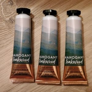 Mahogany Teakwood Hand Creams